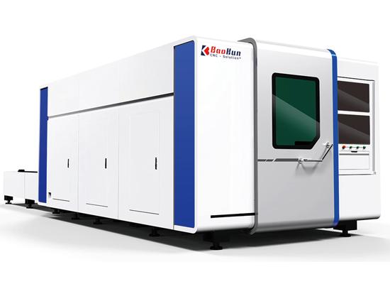 full enclosd fiber laser cutting machine