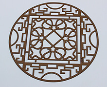 leather laser cutting