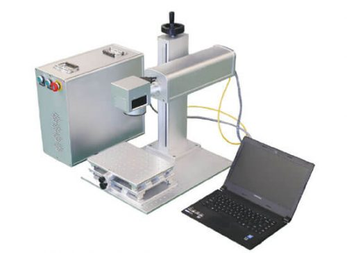 mini split fiber laser marking machine