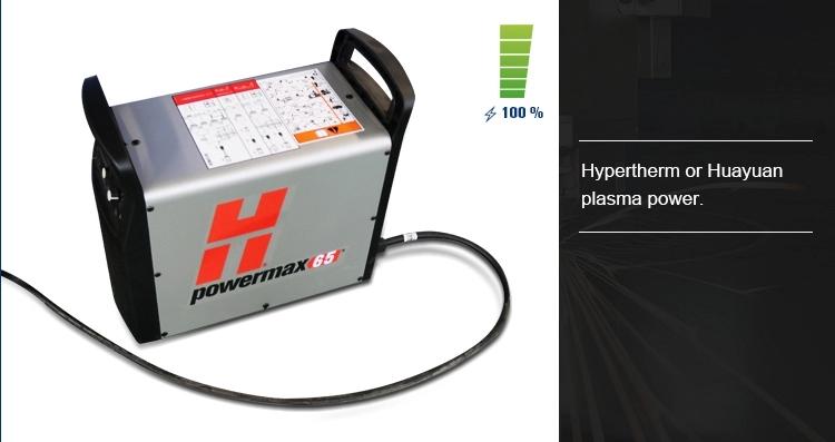 power of plasma cutting machine