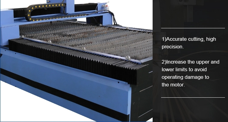table of plasma cutting machine