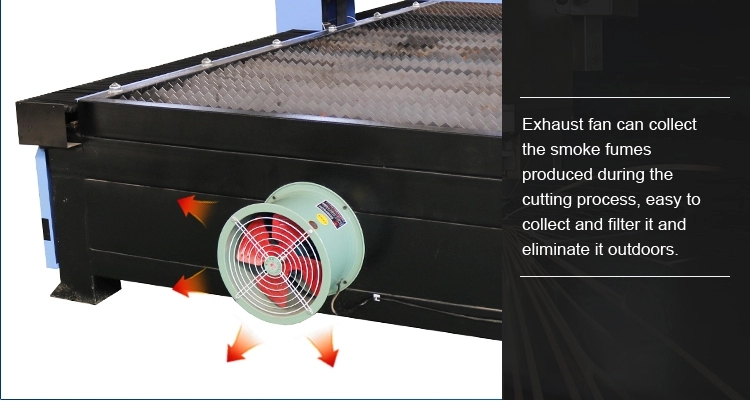 the fan for the cnc plasma cutter