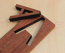 wood laser cutter sample