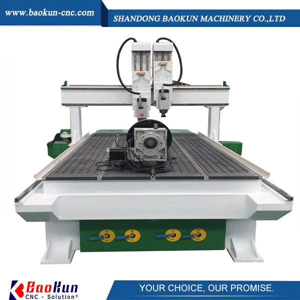 cnc router with Rrotary