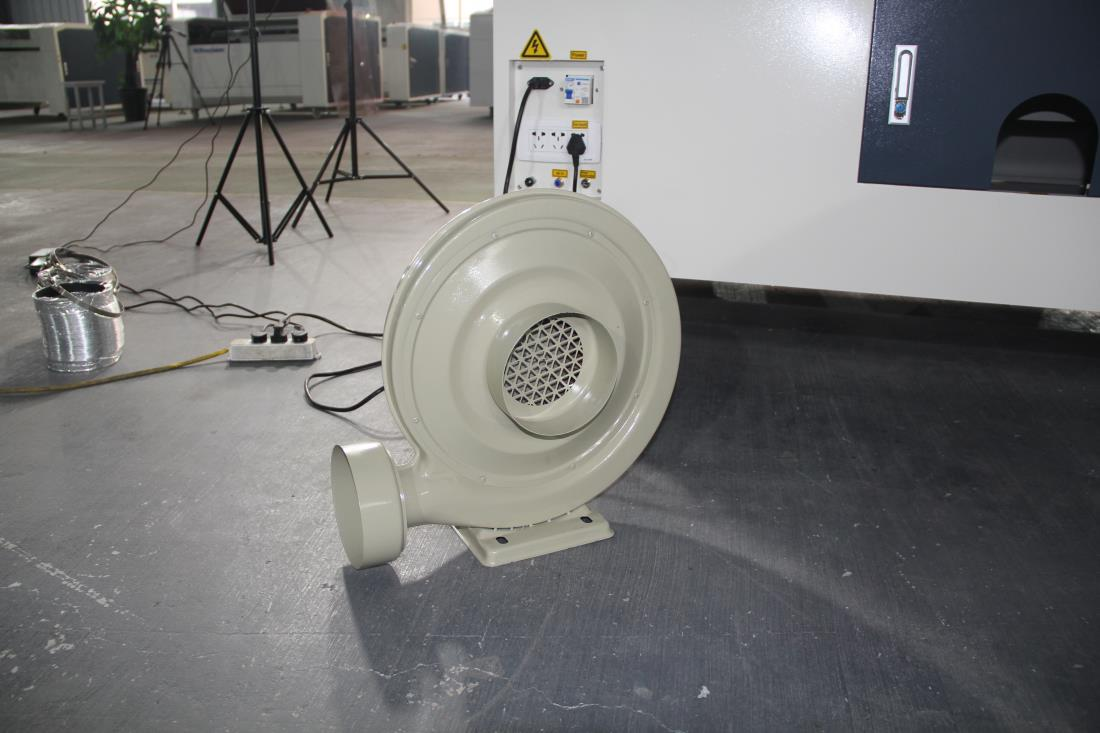 exaust fan for the laser machine