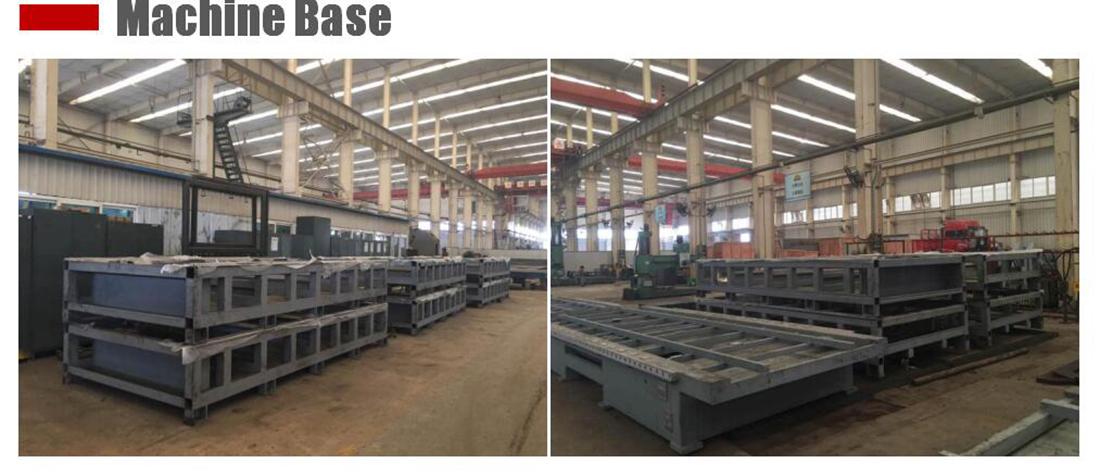 machine base for the fiber laser cutting machine