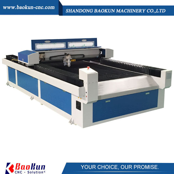 mixted co2 laser cutting machine for metal