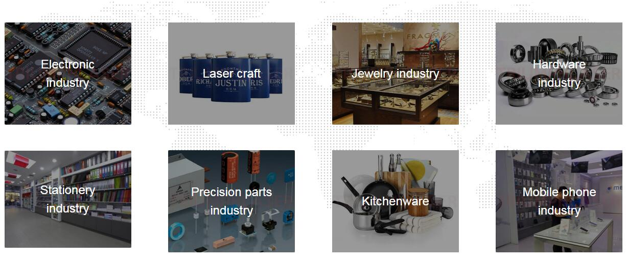 MACHINE APPLICATION SCOPE AND MATERIIALS