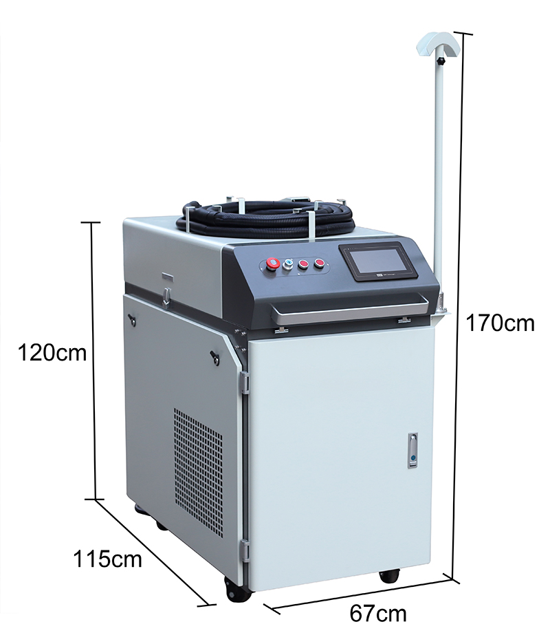 handheld laser welder machine